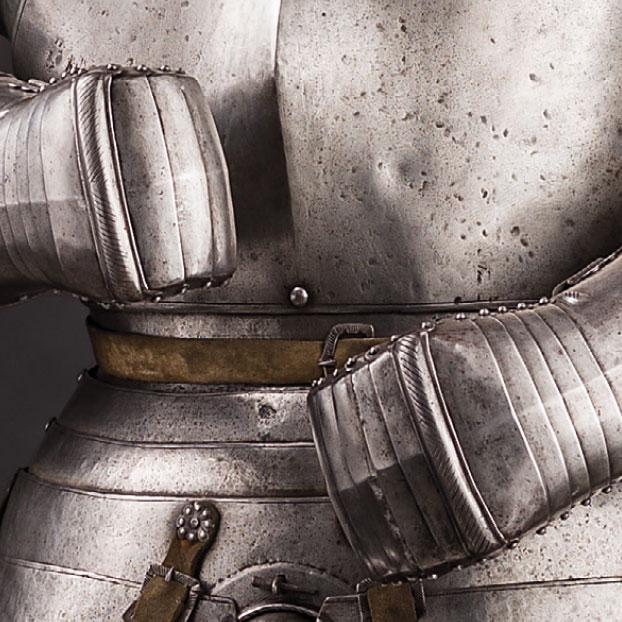 Старинные рыцарские доспехи