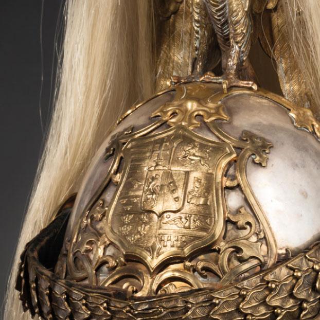 Антикварный шлем