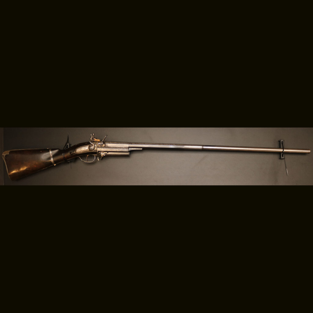 АРК-18Револьверное ружье с кремниевыми замками, около 1700 года1