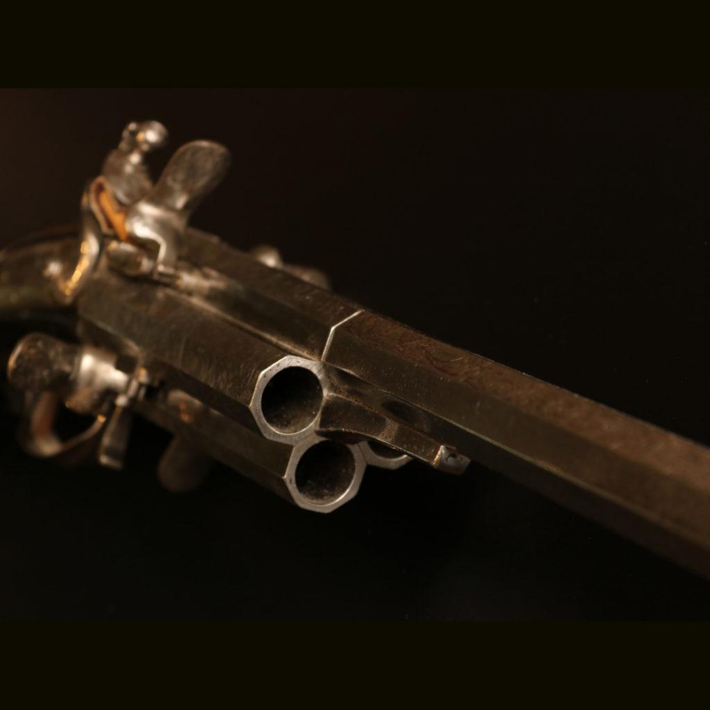 АРК-18Револьверное ружье с кремниевыми замками, около 1700 года2