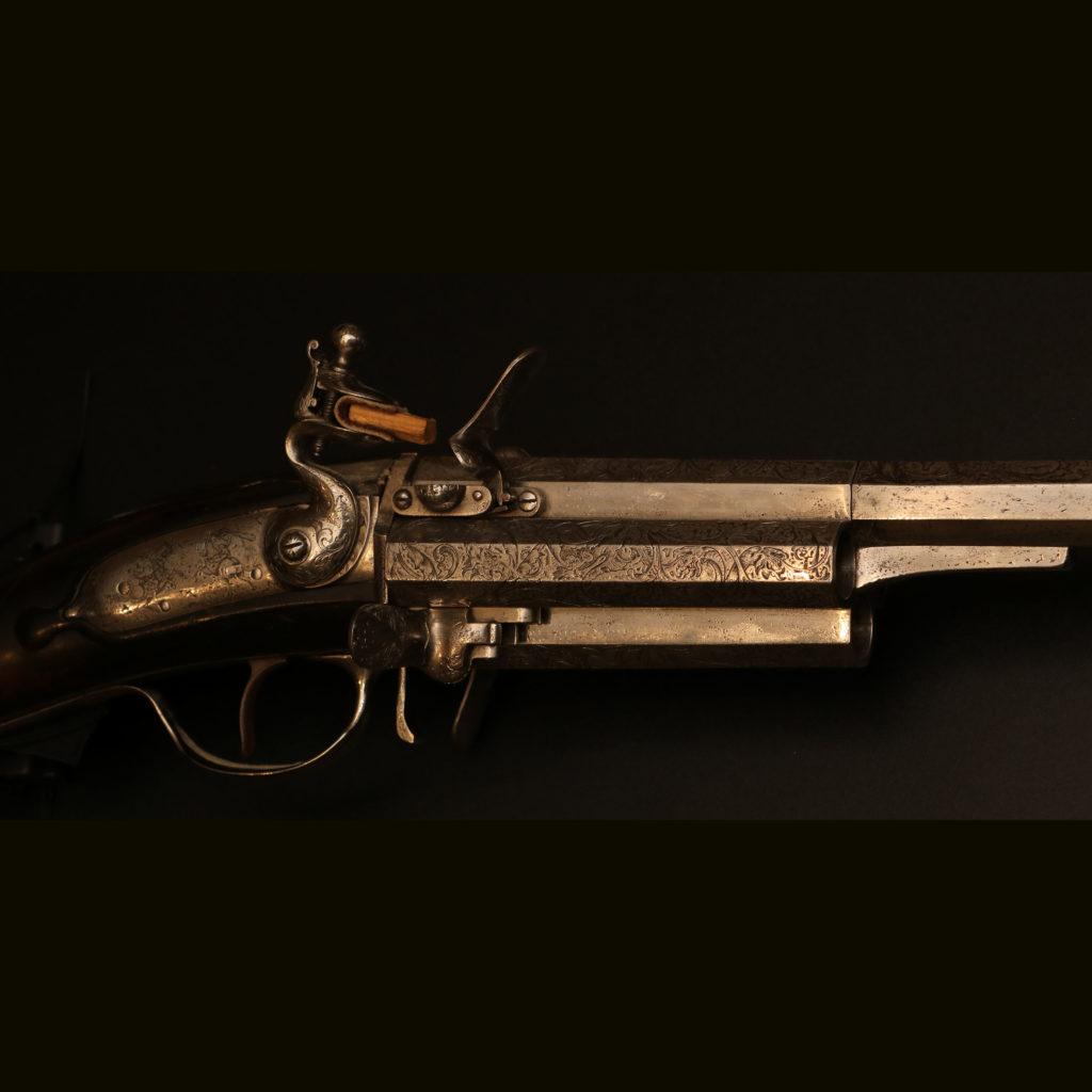 АРК-18Револьверное ружье с кремниевыми замками, около 1700 года3