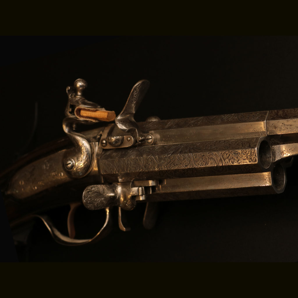 АРК-18Револьверное ружье с кремниевыми замками, около 1700 года4