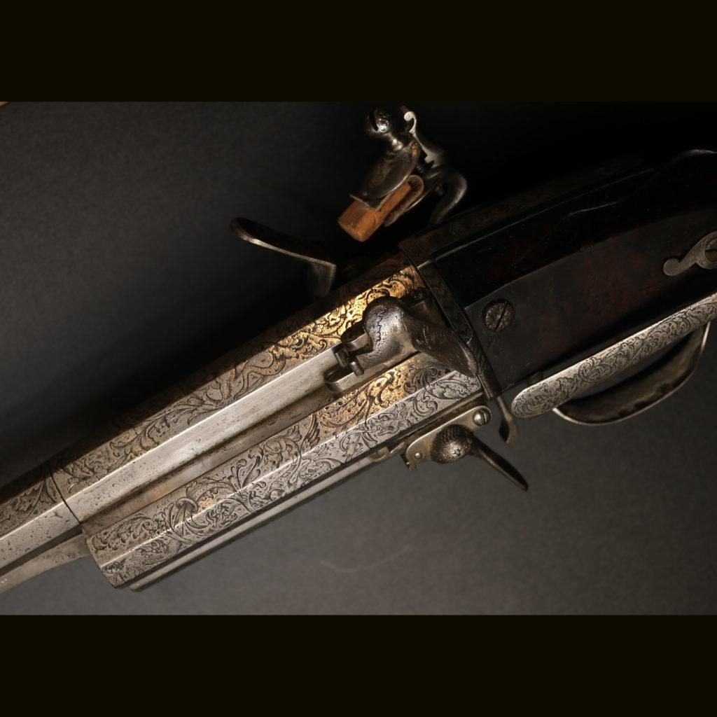 АРК-18Револьверное ружье с кремниевыми замками, около 1700 года5