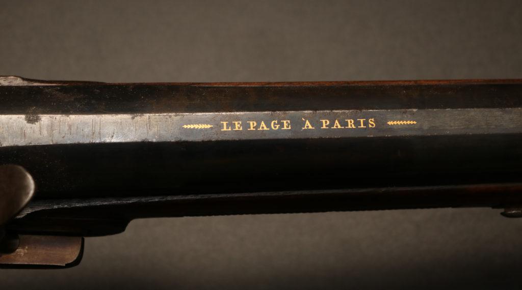 АРК-19Ружье, мастер Жан Лепаж, Франция, 1820 год4
