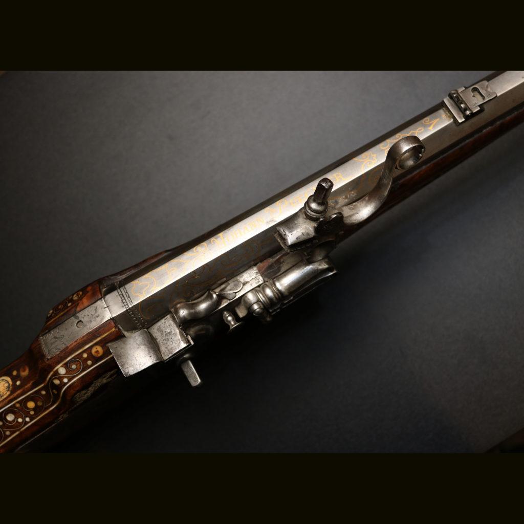 АРК-8Аркебуза украшенная с колесцовым замком8