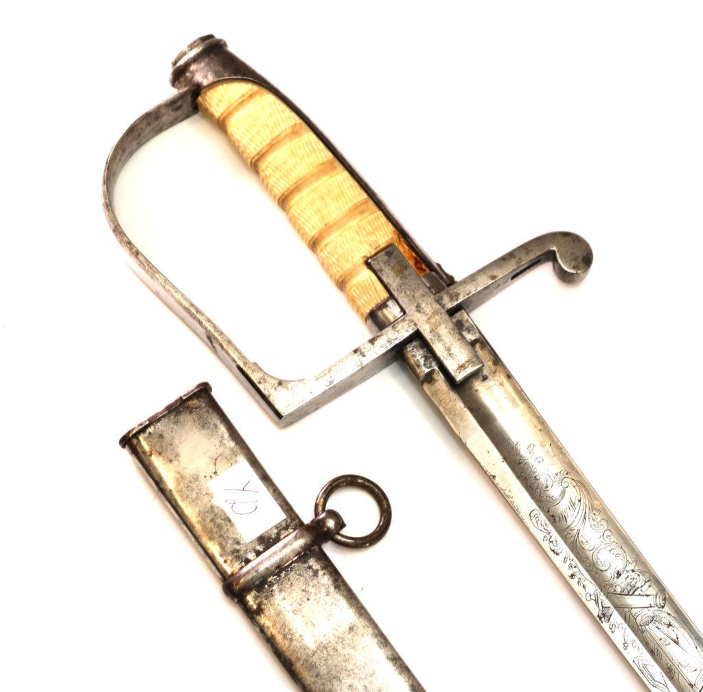 УД-1Сабля генерала королевства Сардиния М 1855-1