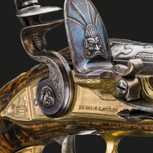 Антикварное ружье